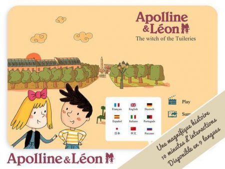 Un livre interactif pour enfants sur tablettes android, ipad et blackberry : Apolline et Léon à télécharger !