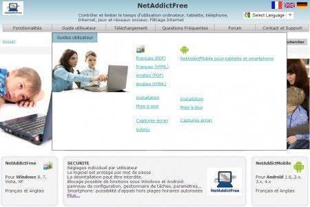 logiciel netaddictfree